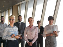 Business people group standing together Stock Images