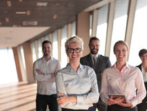 Business people group standing together Royalty Free Stock Image