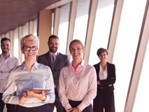 Business people group standing together Stock Image