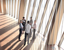 Business people group standing together Royalty Free Stock Photos
