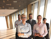 Business people group standing together Royalty Free Stock Images