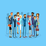 Business People Group Team Businesspeople Flat Royalty Free Stock Image