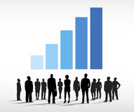 Business People Group Vector Royalty Free Stock Photography