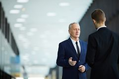 Business people in Hall royalty free stock photos