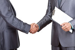Business people handshake Royalty Free Stock Photos