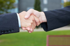 Business people handshake Royalty Free Stock Photo