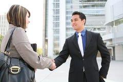 Business People Handshake Stock Photography