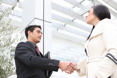 Business People Handshake Royalty Free Stock Image
