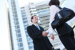 Business People Handshake Stock Image