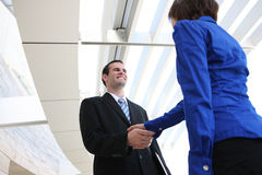 Business People Handshake Royalty Free Stock Images