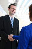 Business People Handshake Stock Photography