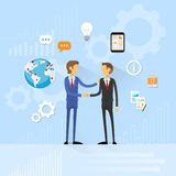 Business people handshake, businessmen hand shake Royalty Free Stock Photos
