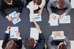 Business people handshake Royalty Free Stock Image