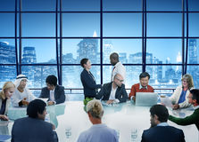 Business People Handshake Meeting Corporate Office Working Conce Stock Images