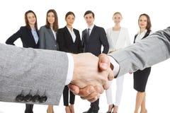 Business people handshake Stock Photos