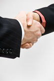 Business people handshaking Royalty Free Stock Images