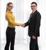 Business people handshaking Royalty Free Stock Photography