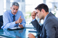 Business people having an argument Stock Image