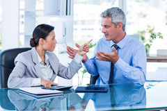 Business people having argument Stock Image