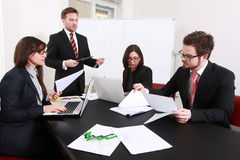 Business people having board meeting. In the conference room Royalty Free Stock Photos