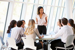 Free Business People Having Board Meeting In Modern Office Royalty Free Stock Photos - 28522388