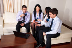 Business people  having a break Royalty Free Stock Photography