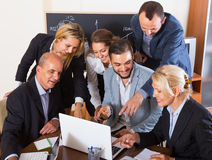 Business people having break Royalty Free Stock Photo