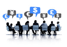 Business People Having a Financial Planning. Group of business people having a financial planning Stock Photography