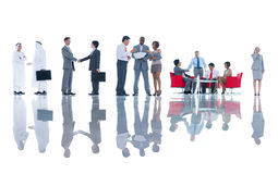 Business People Having Group Discussion Stock Image