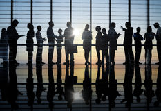 Business People Having Group Discussion Royalty Free Stock Photo
