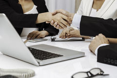 Business people having handshake Royalty Free Stock Photo