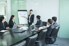 Business people having meeting Stock Images