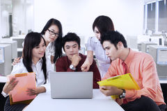 Business People Having A Meeting Stock Photography