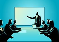 Business people having a meeting Stock Image