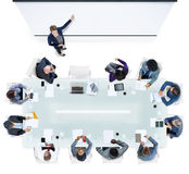 Business People Having a Meeting in the Office Royalty Free Stock Photo