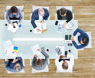 Business People Having a Meeting in the Office Stock Photos