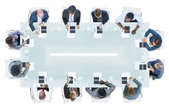 Business People Having a Meeting in the Office Royalty Free Stock Image