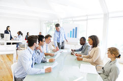 Business People Having A Meeting Royalty Free Stock Photography