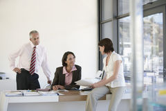 Business People Having A Meeting Royalty Free Stock Photo