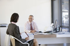 Business People Having A Meeting Stock Images