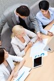 Business people hold a meeting Stock Photography