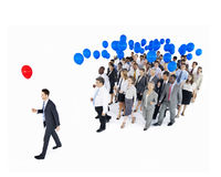 Business People Holding Community Communication Concept.  stock photo