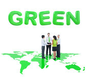 Business People Holding Hands For Environmental Royalty Free Stock Photo