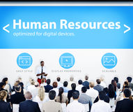 Business People Human Resources Web Design Concept Royalty Free Stock Images