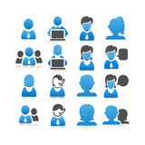 Business people icon Stock Images