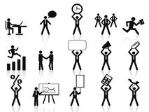 Free Business People Icons Royalty Free Stock Images - 23950179