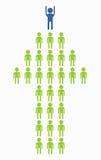Business_people_icons_arrow Zdjęcia Stock