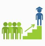 Business_people_icons_education Fotografia Stock
