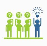 Business_people_icons_idea Photos libres de droits