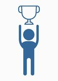 Business_people_icons_man_with_cup Obrazy Royalty Free